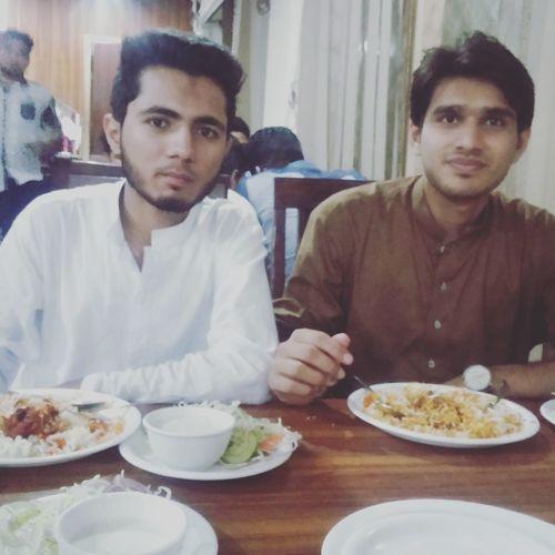 EidMubarak2k16 Hanging Out With Friends Briyani Love It 👍😉😋