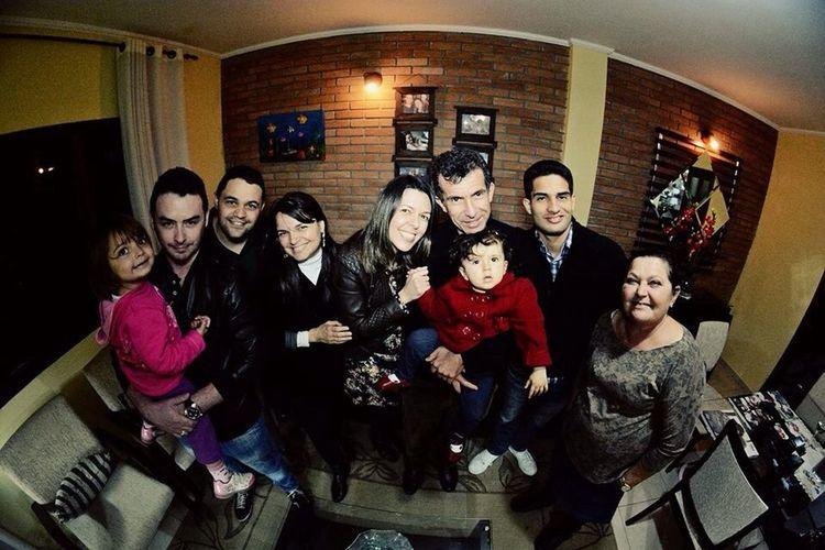 Visita de amigos em casa...muito bom...família Amigos Amoço Amo Muito Td Isso