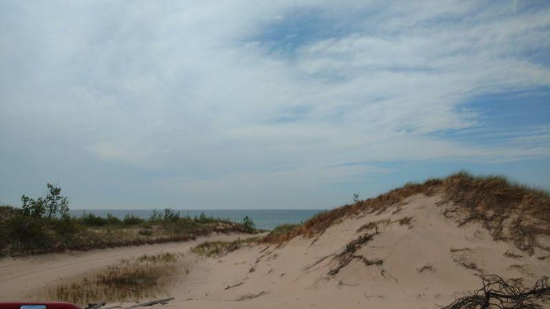 Beach Beauty In Nature Cloud Nature Sand Shore Silver Lake Mi Sky Water