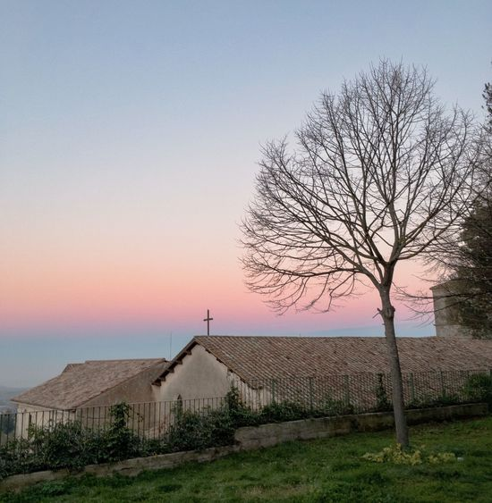 """I've let my leaves gone to let your light inside, amen!"" 🌤🐢🍀🌷🏚🍁☕️ Sunrise Sky Morning IPhoneography"
