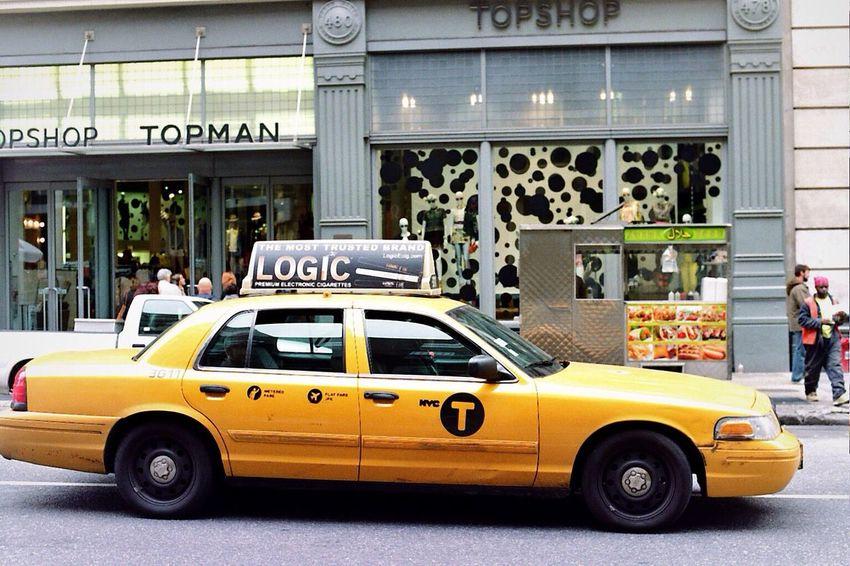 NYC CAB Yellow Cab Streetphotography Soho
