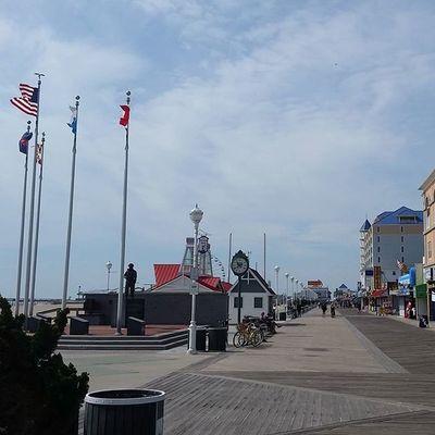 Strolling up the boards... Oceancitycool OceanCity Maryland Ocmd Boardwalk Loveoc
