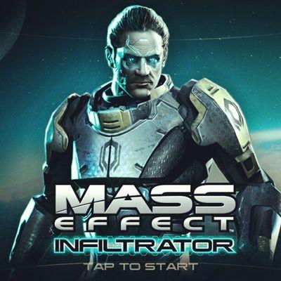 Tap to Start MassEffectInfiltrator Masseffect Android HTCOneX Gaming NewGame