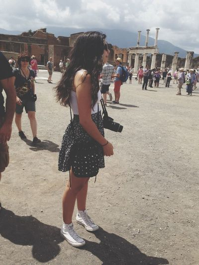 Getting ready to take some pictures in Pompeii  ? Street Photography