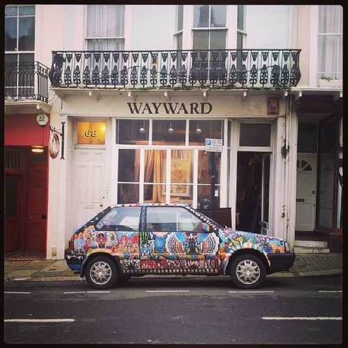 A truly magnificent car in Stleonards Normanroad