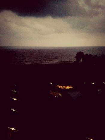 Mersin Turkey Rain Beach