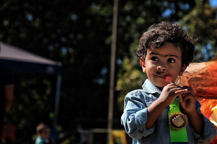 Festa Junina Child Childhood One Person Real People Portrait Cute Front View Focus On Foreground Outdoors Innocence