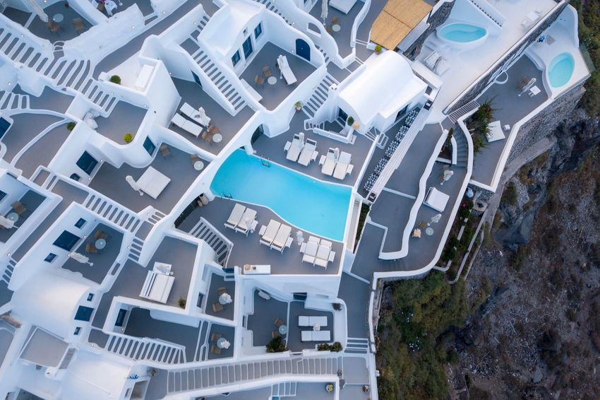 City Building Exterior Architecture Built Structure Building High Angle View Residential District Street Cityscape Transportation Road Aerial View Day Roof Luxury