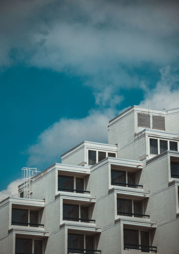 Apartment Architecture Building Exterior Built Structure City Cloud - Sky Day Low Angle View Nature No People Outdoors Residential  Sky Window EyeEmNewHere The Graphic City