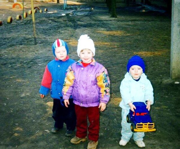 Children Childhood Love Girls Boys Standing