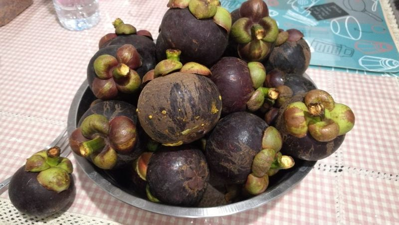 Mangosteen : Summer Retreat in Thailand Mangosteen Mangosteen Fruit Thailand Fruits Fruit Fruits Purple Purple Fruit Healthy Eating No People No Effect No Filter No Filter, No Edit, Just Photography No Setup