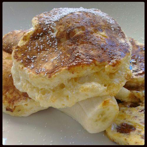 Huge Breakfast Pancakes