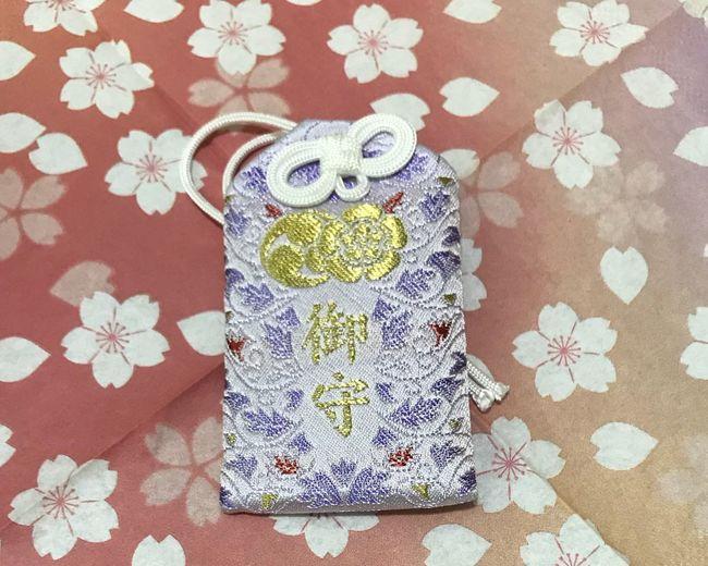 Amulet Of Yasaka Shrine No People Indoors  Close-up Flower Day