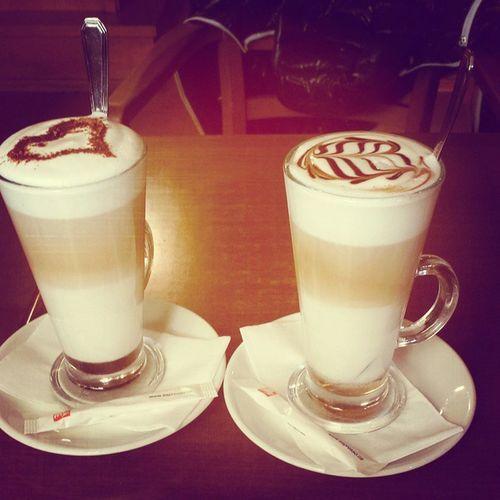Coffee Milk Latemachiato Machiato hot caramel vanilla restaurant relaxing free tastegood wantmore