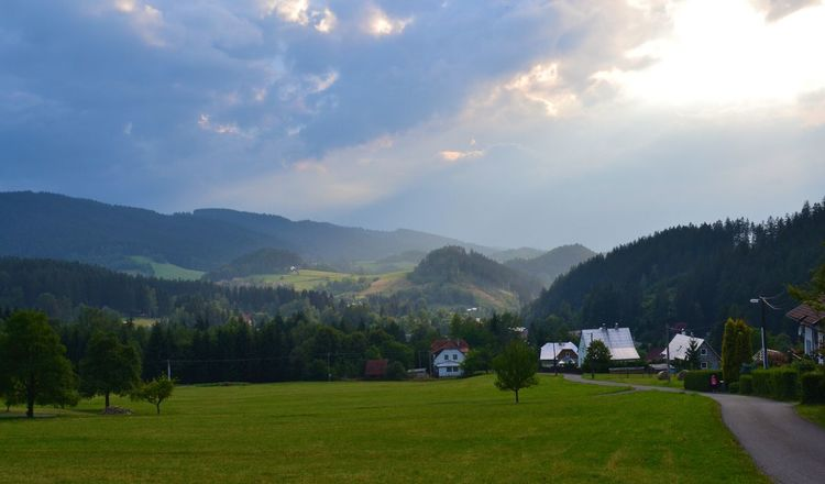 Beauty In Nature Idyllic Landscape Mountain No People Outdoors Scenics Sky Czech Republic BeskydyLovely View