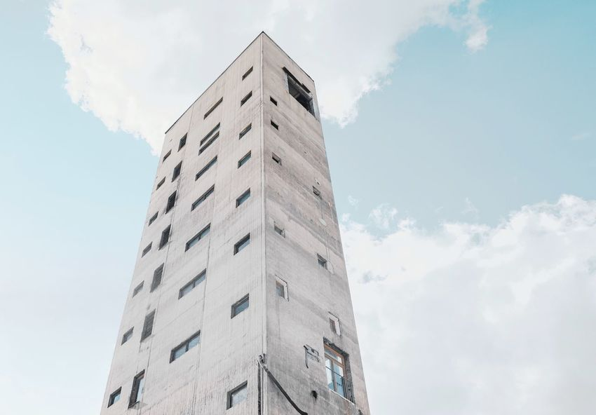- A = ARCHITECTURE - The Architect - 2018 EyeEm Awards Architecture Check This Out! Berlin Photography Modern Living Modern Architecture Architecture Low Angle View Building Exterior Built Structure Sky Building Tower Tall - High Cloud - Sky Day No People City