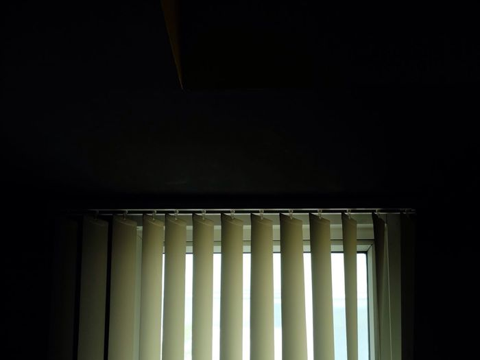Blinds On Window In Room