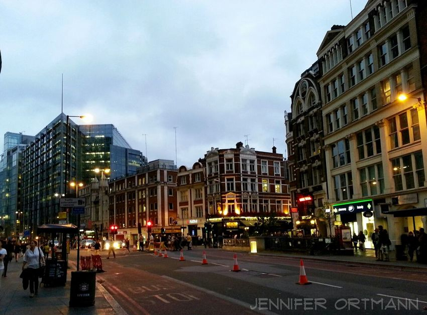 Early evening in June 2013 on Oxford Street  in London (England) Cityscapes Discover The World