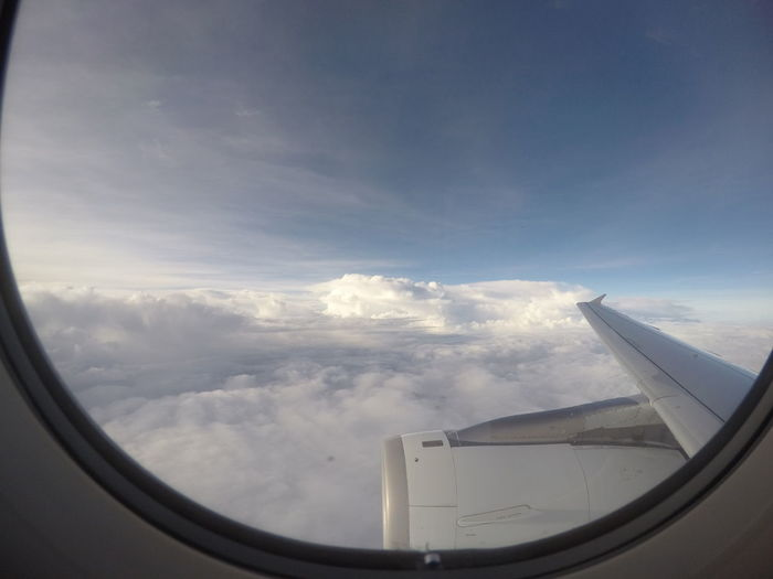 Above The Clouds Aerial Aerial View Aeroplane In The Sky Aircraft Wing Beauty In Nature Cloud - Sky Clouds Day Engine Explore Flying Heaven High Journey Mode Of Transport Nature Plane Plane Window Scenics Sky Sky And Clouds Transportation Travel Traveling