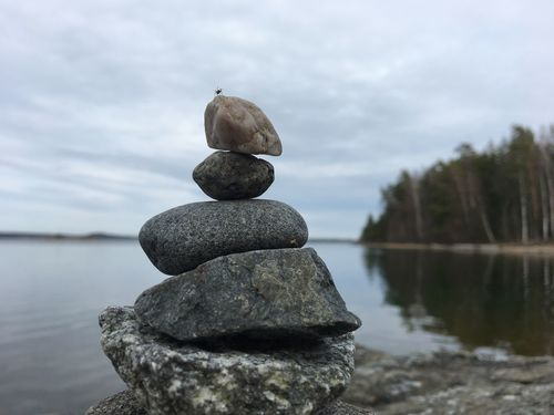 on top of my world Balance Beauty In Nature Focus On Foreground Nature On Top On Top Of The World Outdoors Pebble Rock - Object Spider Stack The Great Outdoors - 2017 EyeEm Awards Water The Great Outdoors - 2018 EyeEm Awards
