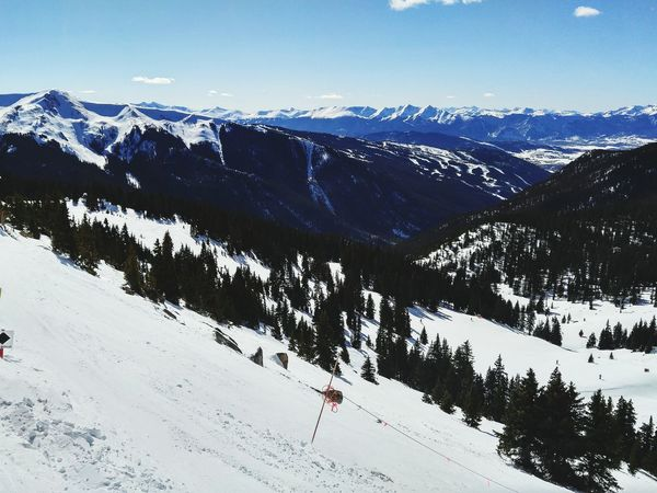 Arapaho Basin at Zuma bowl