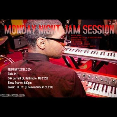 My bro @dennardwatson is hosting at Club347 this Monday, 2/24/14! We turning ALL THE WAY up and breaking the controls off!! It's FREE so come out and rock out!! WhyLie