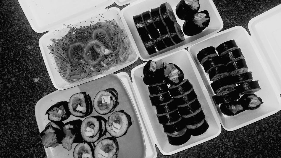 for those i always care 😁 Kimbap Homemade Photography Foodphotography Packlunch Countonme Bestfriends ♡