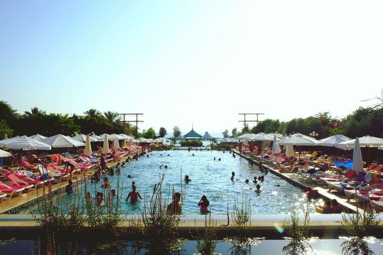Postcard. Summer Pool Chilling Lebanon Byblos LiveLoveLebanon