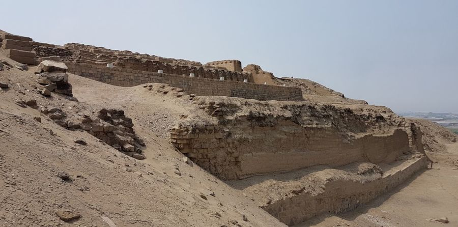 Ancient Civilization Ancient Old Ruin Deserts History Building Exterior Temple - Building Check This Out! Sand Hill Travel Destinations Pachacamac Lima,Perú