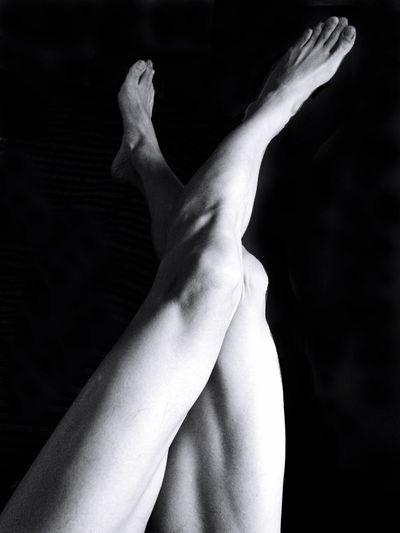 Check This Out Legs Male Self Portrait Monochrome Keisuke