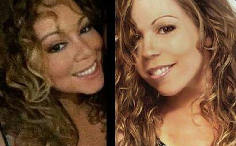 Mariah Lookalike Talent Impersonator MariahCarey Curly Hair💜