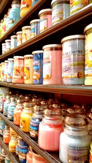 Yankee Candle Candles.❤ Candleporn Candle Shopping Colorful Color Photography Colorfull Life The Beauty In Things Beauty In Ordinary Things