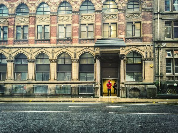 Architecture Building Exterior Built Structure Window Street TakeoverContrast Internet Addiction Residential Building Transportation Building City Outdoors Day City Life History Façade Doorway Battle Of The Cities Leeds Yorkshire Cityscapes Façade Urban Geometry Building Story City Life