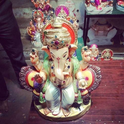 Ganeshidol Hubli Bringing home