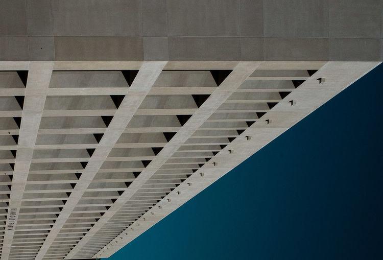 Humboldt forum fassade with blue sky