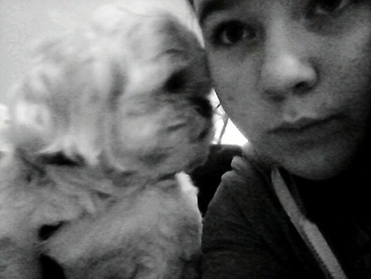 Dogieee :* Nutsey ^^ Black & White Sm:)e