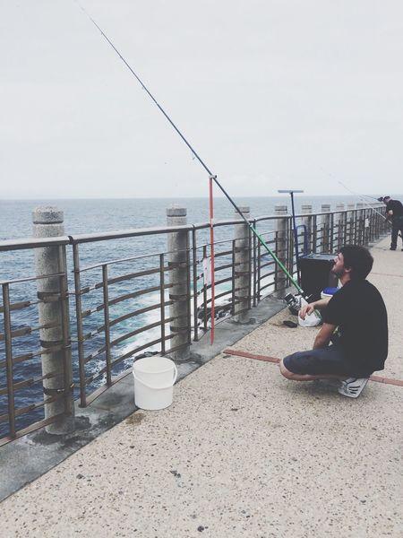 Esperando. Puerto Pesquero Pesca Hombre España Esperando Mar Like4like Fotography