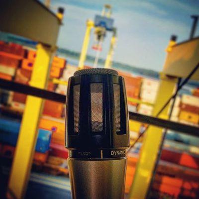Ready to go! PortMTL terminal CAST Containercrane Transtainer