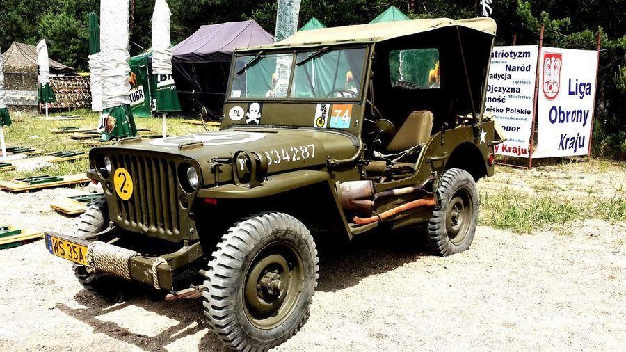 Military Camp Military Car