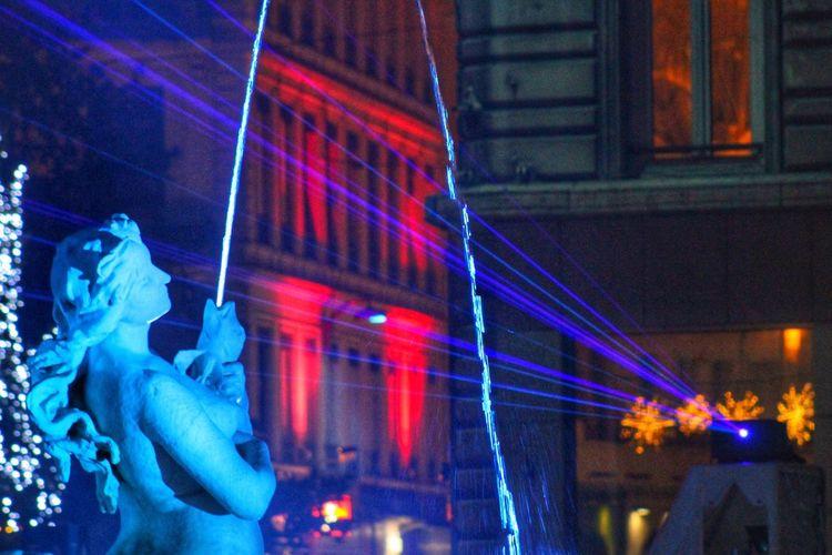 Illuminated Night Lyon City Lights Colors France EyeEmNewHere