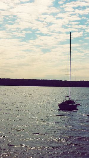 Water Waterfront Sky Nautical Vessel Nature Sailboat Sailing Boat Beauty In Nature Outdoors Sailing Day Wisconsin Lakegeneva Wisconsin Lakegeneva