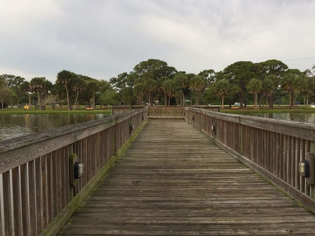 Gleason park boardwalk Found On The Roll Melbourne Beach, FL Florida Park Boardwalk Lake View Lakeside Lakeshore