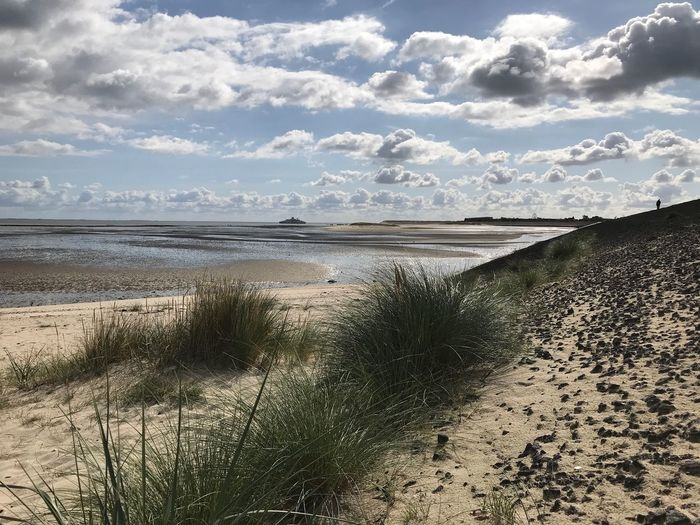 Weiter weg nach List -Sylt Wattenmmeer Hafen Sylt, Germany Insel Wolken Water Sea Beach Sky Scenics - Nature Land Tranquility Cloud - Sky