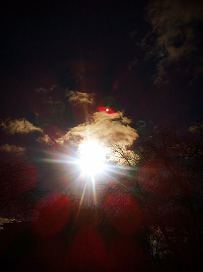 Sun Autumn Clouds Sky Light