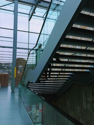 Architecture Built Structure Glass - Material Building Steps And Staircases Indoors  Staircase