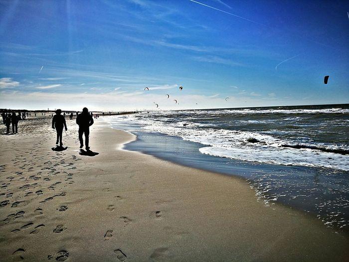 Beach Sea Sand Horizon Over Water Nature Beauty In Nature Scenics Sunnyday☀️ 🌊🌊 ☀🌞 ❤❤❤ I Love Sea
