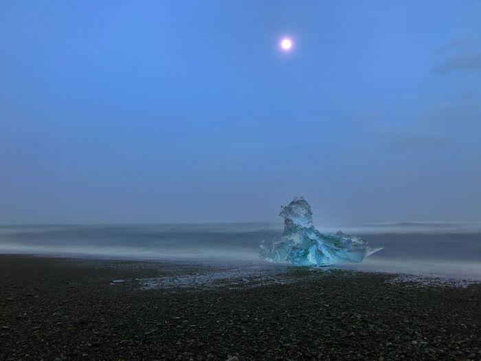 Waiting Iceberg