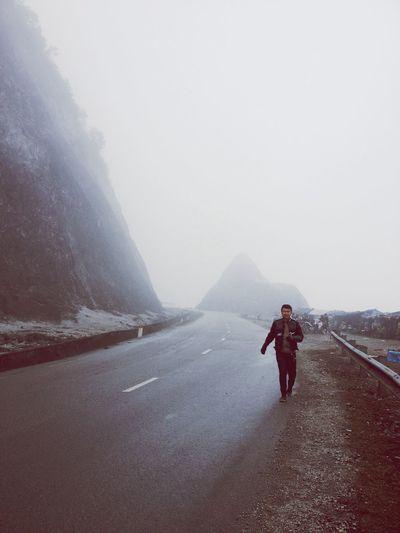 Sương mù đúng nghĩa ...
