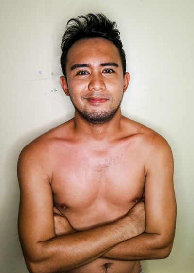 SMILE AND BE PROUD NotYourCliche OpenEdit EyeEmBestPics HuaweiMate9Photography EyeEmNewHere Mobilephotography Eyeem Philippines EyeEm Selects Light And Shadow Moreno Shirtless Indoors  Black Hair Young Adult Men Hair One Person Front View Waist Up Smiling Chest EyeEmSelect EyeEm Gallery Close-up ManOfYourDream This Is My Skin Capture Tomorrow