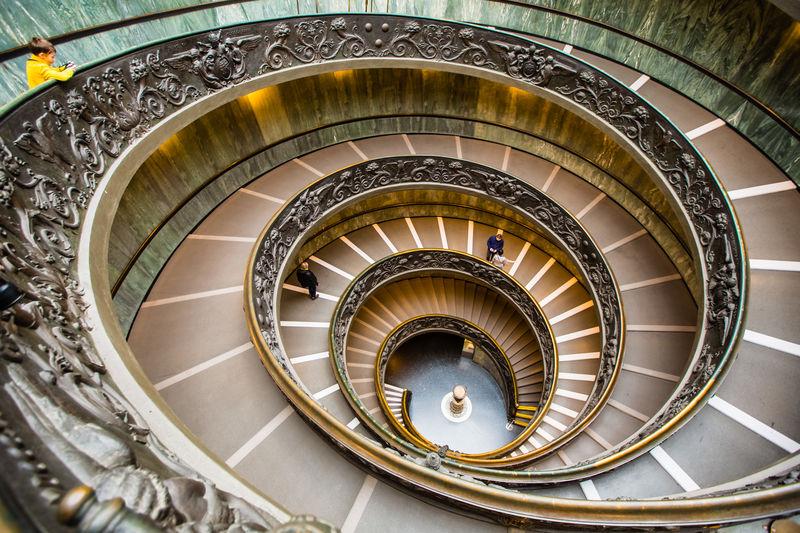 Bramante Bramante Staircase Italia Roma Rome Vatican Museum Spiral Staircase Architecture Built Structure Italy Spiral Spiral Staircase Staircase Steps Steps And Staircases Vatican Museum